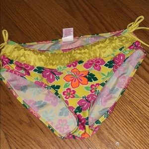 Cute yellow floral bottom